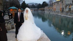 Uçakta başlayan aşk Şanlıurfa'da düğünle taçlandı