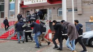 Uyuşturucu operasyonu; 11 kişi tutuklandı