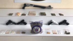 Uyuşturucu operasyonu; 22 gözaltı