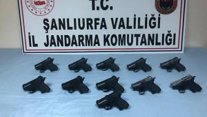 11 adet ruhsatsız tabanca ele geçirildi: 1 tutuklu