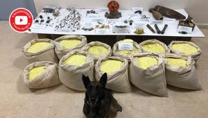 760 kilo patlayıcı ele geçirildi: 4 gözaltı