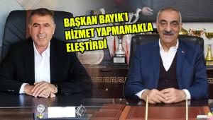 'AK Parti'ye değil, çalışmayanlara karşıyız'