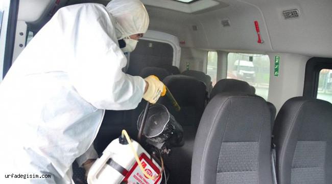 Araçlar ücretsiz dezenfekte edilecek