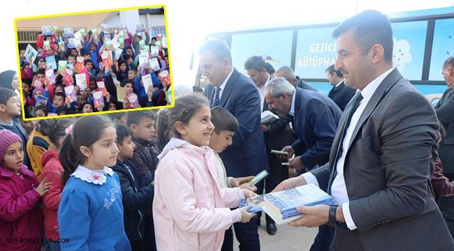 Büyükşehir'den Suruç'a kitap desteği
