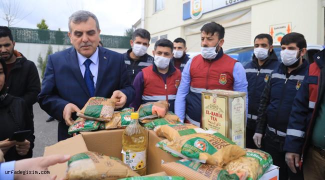 Gıda kolisi ve hijyen paketi dağıtımına başlandı