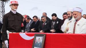 İdlib şehidi Atabey, son yolculuğuna uğurlandı
