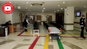 İl sağlık Müdürlüğü acil görüntülerini yalanladı