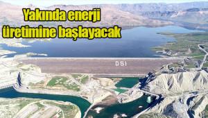Ilısu Barajı'nda su seviyesi yükseliyor
