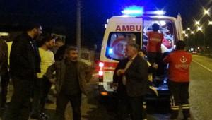 Kamyonet devrildi; 2'si çocuk 5 yaralı