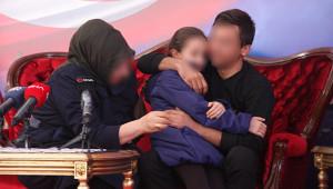 Örgütten kaçan şahıs, ailesine teslim edildi