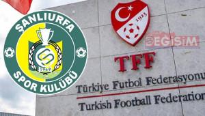 Şanlıurfaspor'a aynı maddelerden ceza kesildi