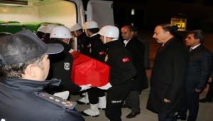 Şehidin cenazesi Şanlıurfa'ya getirildi