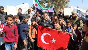 Şehitler ve Türkiye için toplandılar