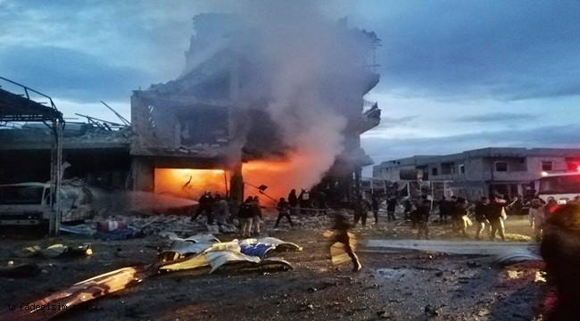 Suriye'de bombalı araçla saldırı; 2 ölü