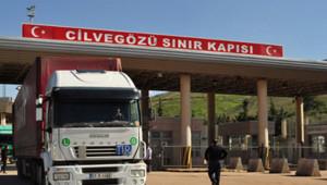 Suriye'ye açılan sınır kapıları kapatıldı