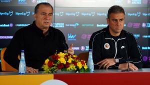 Terim ve Hamzaoğlu'ndan ortak açıklama