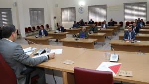 Toplantıda alınan önlemler gözden geçirildi