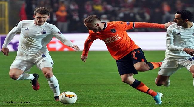 UEFA'dan Başakşehir'e 1500 Euro ceza