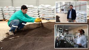 Urfa'da üretilen organik gübre yurt dışına satılıyor
