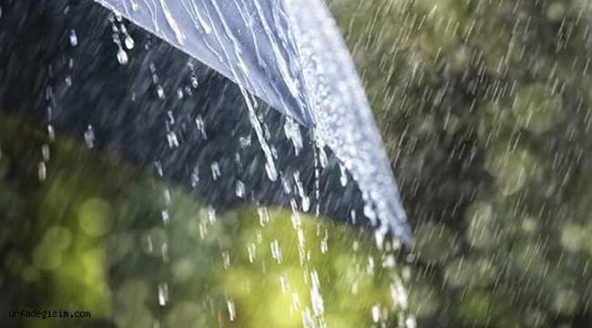 Urfa'da yağış bekleniyor