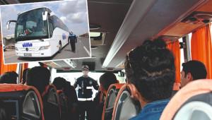 Zabıta, yolcu taşımacılığı yapanları denetledi
