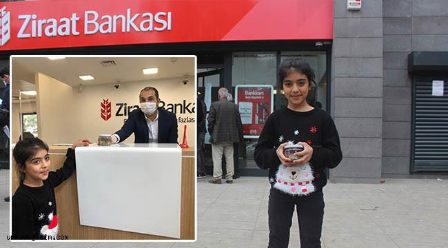 Avaşin, oyuncak parasını kampanyaya bağışladı