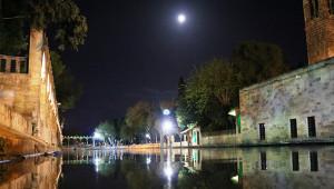 Balıklıgöl, Süper Ay'la aydınlandı