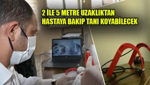 Bu cihaz sayesinde, doktor hastayla temas etmeyecek