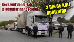 Bu kez yardımlar Urfa'ya gönderildi