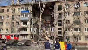 Doğalgaz patlaması; 1 ölü, 4 yaralı