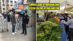 Eyyübiye'de de pazar tedbirleri üst düzeyde