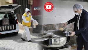 Haliliye'de 'Evdekal' ile sıcak yemek