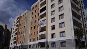 Maşuk-TOKİ'de bir bina karantinaya alındı