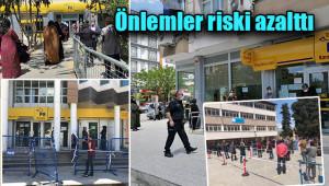 PTT'lerdeki risk en aza indirildi