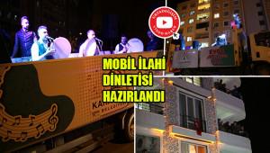 Ramazan coşkusu balkonlara taşındı