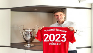 Thomas Müller, 2023'e kadar Bayern Münih'te
