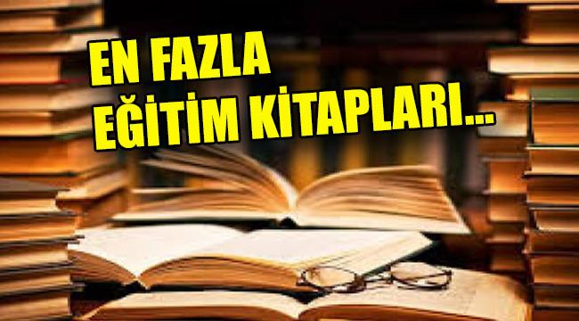 Türkiye'de yayımlanan kitap sayısı arttı