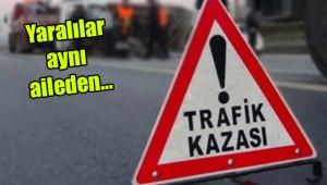Urfa'da otomobil devrildi: 5 yaralı