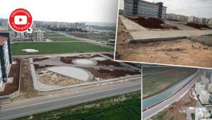Yeni yeşil alanların yapımına başlandı