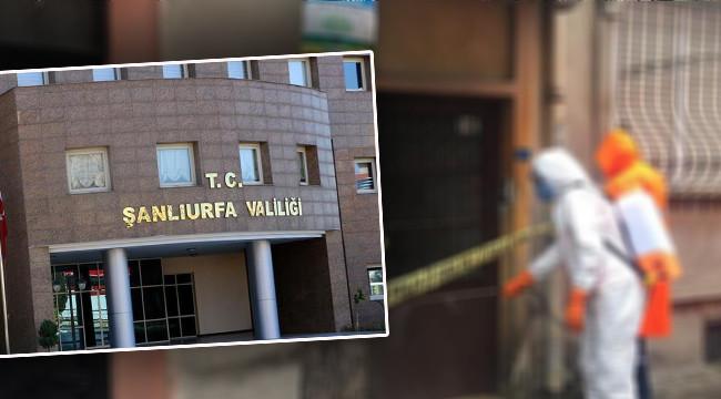 Urfa'da 5 yeni vaka için karantina kararı