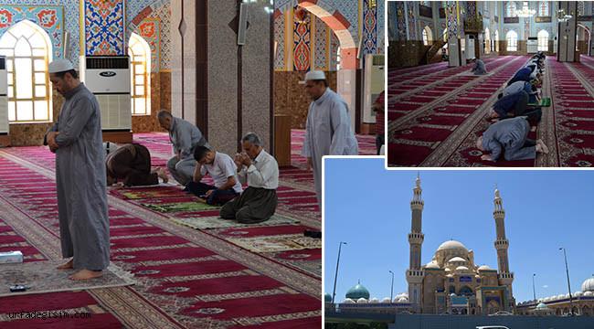 2 ay sonra camiler tekrar açıldı