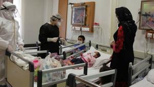 5 aylık bebek Urfa'da koronayı yendi