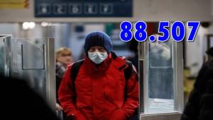 ABD'de Koronavirüs Bilançosu