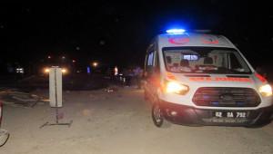 Adıyaman'da trafik kazası; 2 ölü, 1 yaralı