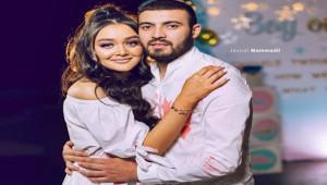 Azerbeycan'ın gözde çifti evlendi