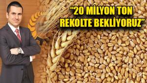 """""""Çiftçilerimizin buğdaydan elde ettiği gelir arttı"""""""