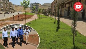 Eyyübiye'ye 19 yeni park kazandırdı