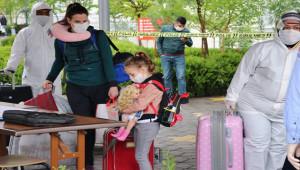 Gaziantep'te karantina süresi dolan 353 kişi evlerine uğurlandı
