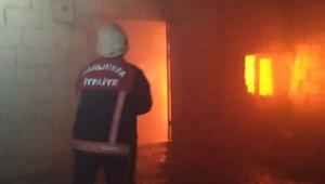 Haliliye'de ev yangını