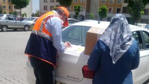 Hepsiburada'dan Urfa'ya binlerce gıda kolisi
